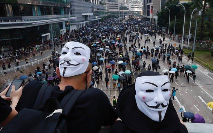 Χονγκ Κονγκ που βγαίνει με ξένους